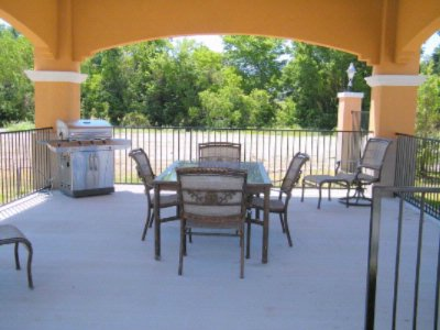 Poolside Gazebo With Gas Grill 6 of 10