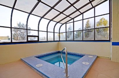 Enjoy Our Indoor Atrium Hotub 15 of 20