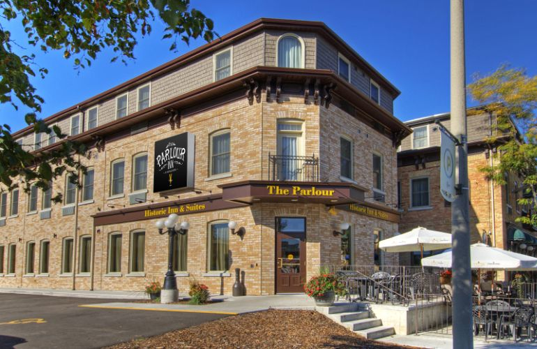 Best Western The Parlour Historic Inn & Suites The Historic Building That Has Been Completely Renovated To Still Provide The Original Characters With Modern Amenities