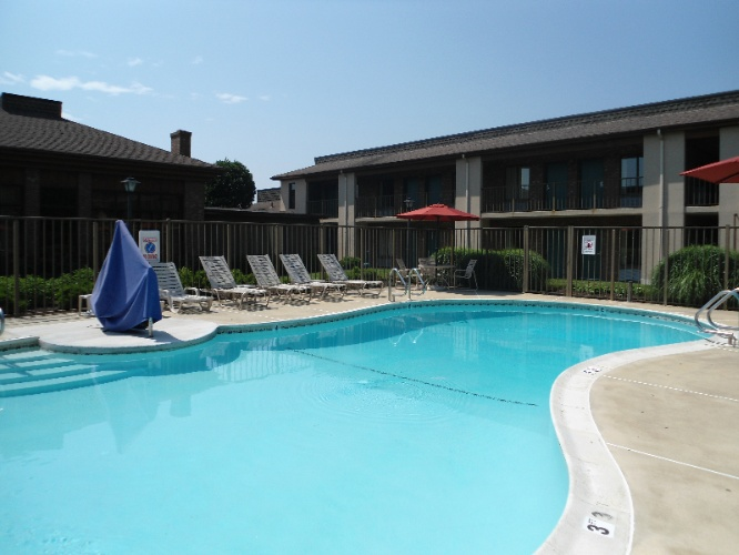Relax In Our Outdoor Pool 4 of 14