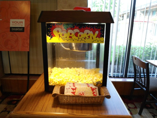 Free Popcorn On The Weekends!! 7 of 14