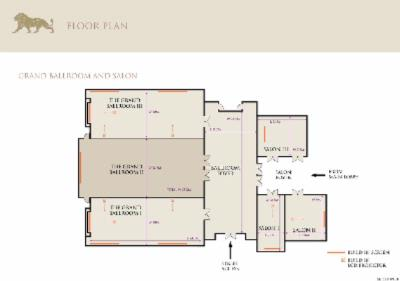 Grand Ballroom Floor Plan 11 of 12