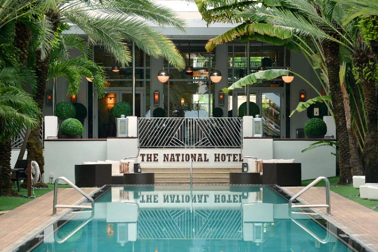 The National Hotel 1677 Collins Ave Miami Beach Fl 33139