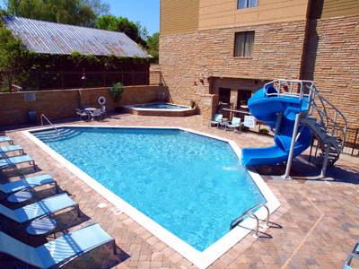 Enjoy Our Outdoor Pool Waterslide And Hot Tub. 6 of 18
