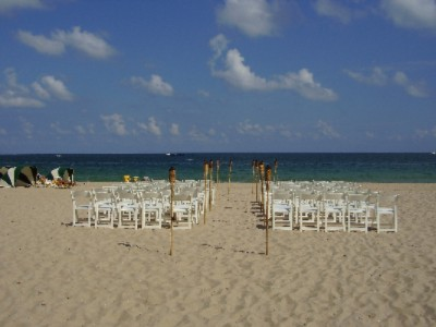 Wedding Ceremony On The Beach 4 of 6
