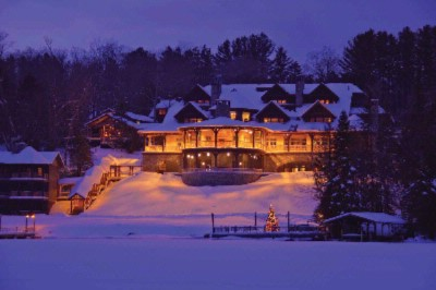 Lake Placid Lodge In Winter 2 of 4