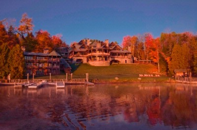 Lake Placid Lodge In Fall 3 of 4