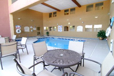 Outdoor Covered Heated Pool And Spa 6 of 9