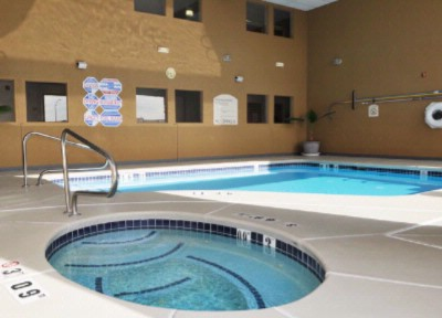 Outdoor Covered Heated Pool And Spa 7 of 9