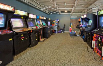 Coin-Operated Game Room Located In Upper Deck Of Indoor Recreational Facility 8 of 11