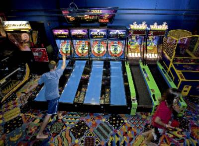 Boyne Resorts Avalanche Bay Arcade