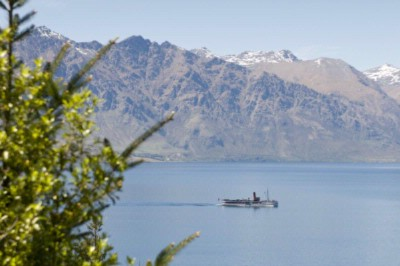 Lake Wakatipu With The Earnslaw Sailing Past 6 of 14