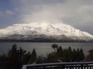 Recent Snow Fall On Mount Cecil 8 of 14