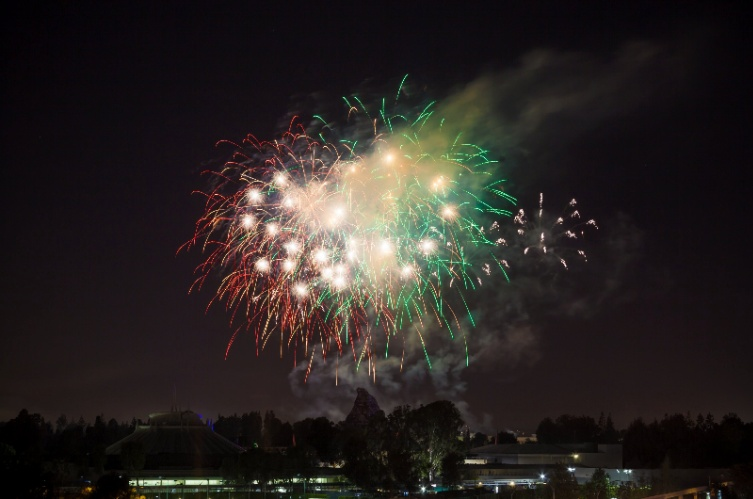 View Of Disneyland Fireworks From The Fifth 22 of 30