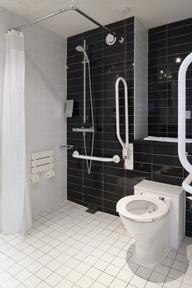 Wheelchair Accessible Bathroom 14 of 17