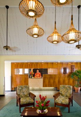 Pacific Marina Inn Lobby And Front Desk