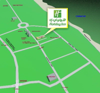 Holiday Inn Corniche Location Map 18 of 20