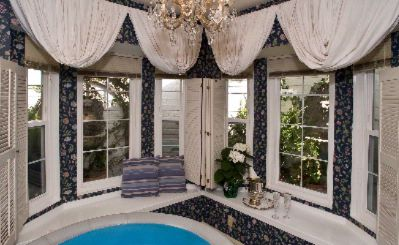 Window Seat Nook And Exterior Fountains; Night Blooming Jasmine Suite 10 of 31