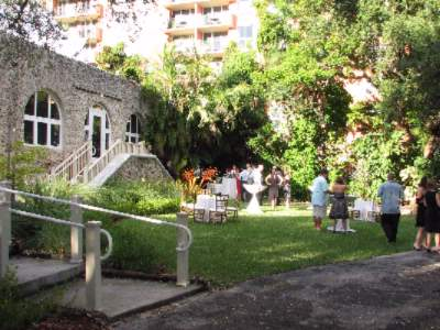 Coconut Grove Women\'s Club Lawn With Hotel In Background 17 of 22