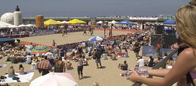 World Famous Beach Volleyball At Manhattan Beach 19 of 25