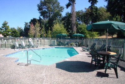 Guests Enjoy Our Outdoor Seasonal Pool. 4 of 4