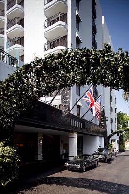London West Hollywood Porté Cochere