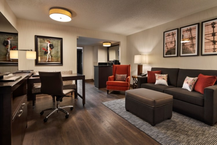 New Living Room In Each Suite 11 of 16