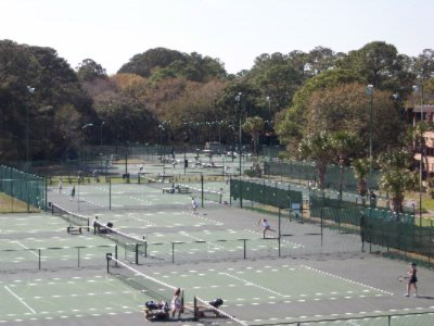 10 Lighted Tennis Courts 5 of 16
