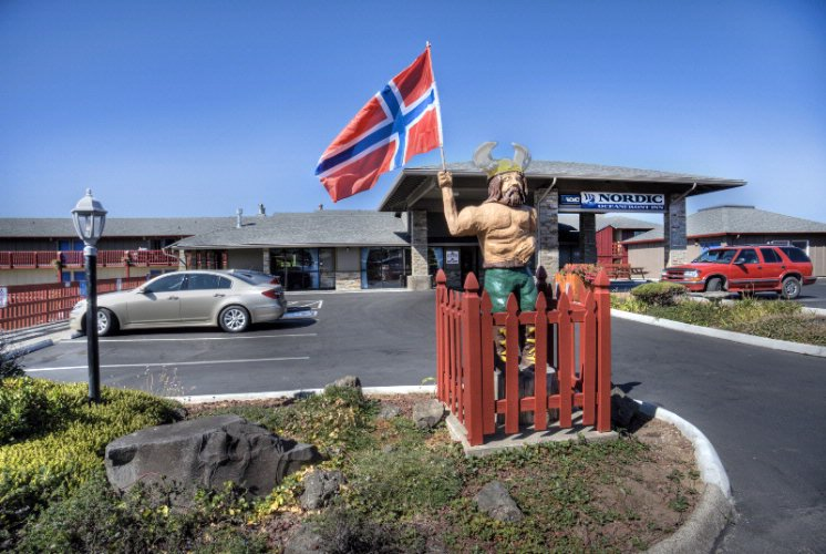 Nordic Statue On Upper Parking Lot 22 of 25