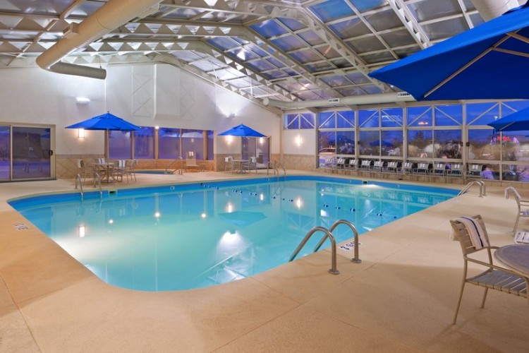 Indoor Heated Pool With Retractable Roof 7 of 8