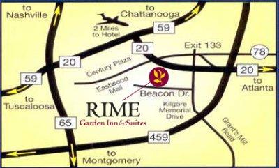 RIME GARDEN INN SUITES Birmingham AL 5320 Beacon 35210