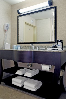 Guest Bath At Of Hampton Inn & Suites Clearwater-St. Petersburg Ulmerton Road 3 of 4