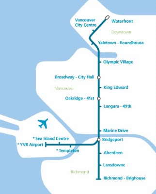 Map Of Skytrain 6 of 8