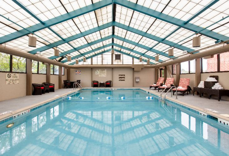 Large Indoor Heated Pool 9 of 16