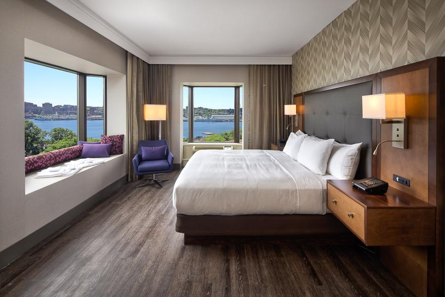 Breathtaking Views Over The Halifax Harbour From Your King Suite 3 of 13