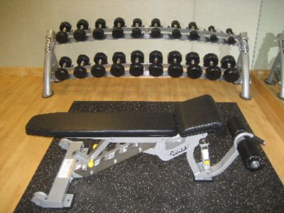 Hoist Incline/decline Bench With Free Weights 11 of 11