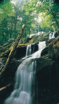 Waterfall In Shenandoah National Park 6 of 11