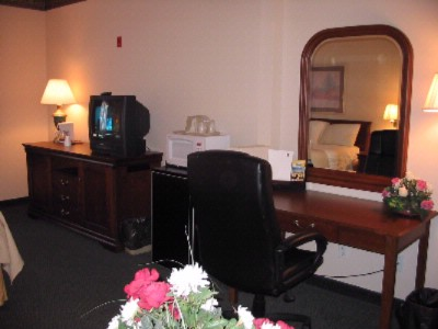 All Our Spacious One Room Suite With Executive Desk & Ergonomic Desk Chair 8 of 18