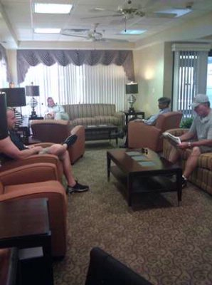 Visit With Friends In Our Comfortable Lobby. 3 of 10