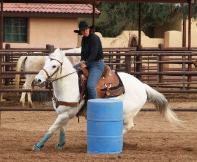 Barrel Racing At The Rodeo 15 of 16