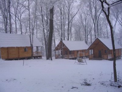 Cabin Exterior In Winter 17 of 31