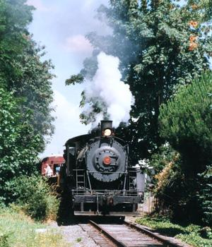 Take A Trip Aboard The 1920\'s Steam Locomotive. 7 of 9