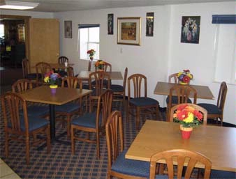 Breakfast Area At The Knights Inn Athens In Athens Ohio 5 of 11