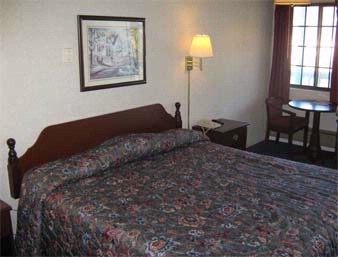 Standard King Bed Guest Room At The Knights Inn Athens In Athens Ohio 8 of 11