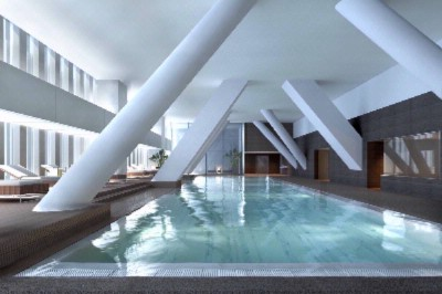 Indoor Pool And Jacuzzi On The 15th Floor 4 of 9
