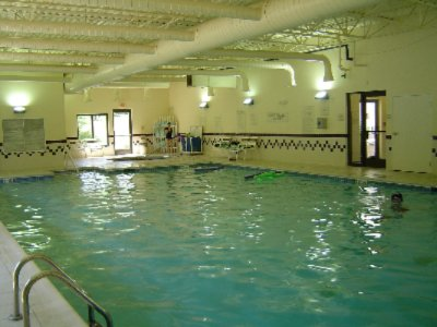 Come Cool Off In A Refreshing Indoor Pool! 4 of 6