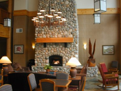 Relax Beside The Two Story Fireplace In Our Great Room. 10 of 10