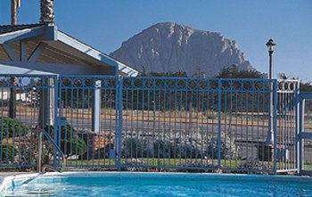 Morro Rock View From Poolside 2 of 11