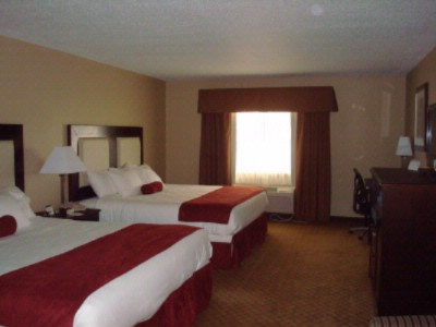 Guestroom Featuring Two Queen Beds Wireless Internet Refrig. Micro Coffee Maker Hair Dryer 4 of 9