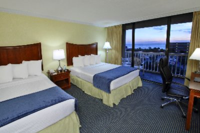 Best Western Cocoa Beach Hotel & Suites -Standard Courtyard Guestrooms -2 Queens 12 of 15